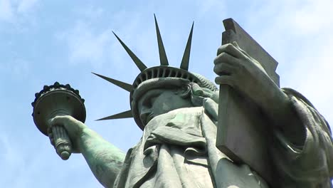 The-Camera-Zooms-In-From-Beneath-The-Tablet-Of-The-Statue-Of-Liberty-To-Her-Powerful-Gaze