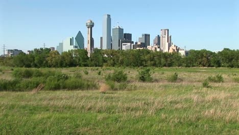 The-Skyscrapers-Rise-High-Above-The-City-Of-Dallas-Texas