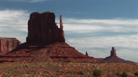 Longshot-Of-Sandstone-Formations-In-Monument-Valley-Arizona