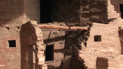 Pandown-To-The-Ruins-Of-Native-American-Cliff-Dwellings-In-Mesa-Verde-National-Park