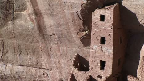 Panup-Of-The-Ruins-Of-Native-American-Cliff-Dwellings-In-Mesa-Verde-National-Park