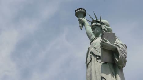 Time-Lapse-Of-Clouds-Behind-The-Statue-Of-Liberty-In-This-Shot-Which-Says-Patriotism-And-Patriotic-Values-1