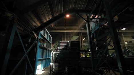 The-dark-interior-of-a-factory