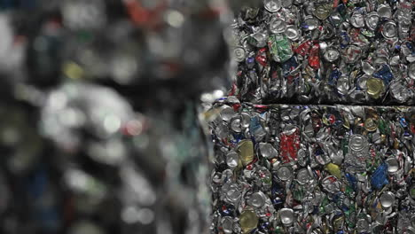 Patterns-of-crushed-aluminum-cans-in-a-recycling-center