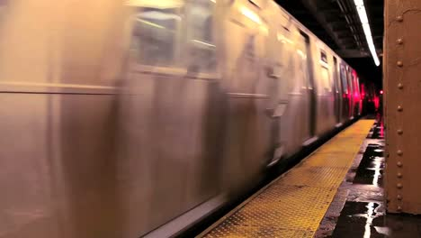 A-subway-train-passes-through-a-station-in-New-York-City