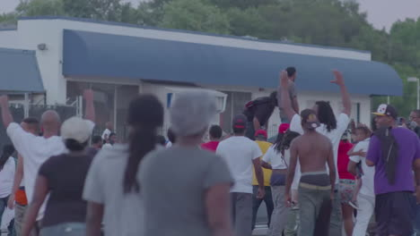 Protesters-sound-off-in-the-streets-of-Ferguson-Missouri