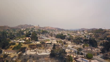 Aerial-over-hillside-homes-destroyed-by-fire-in-Ventura-California-following-the-Thomas-wildfire-11