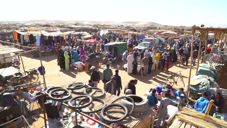 Overview-of-a-huge-open-air-outdoor-market-in-Morocco