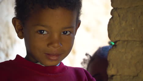 Cute-kids-look-at-the-camera-in-Morocco