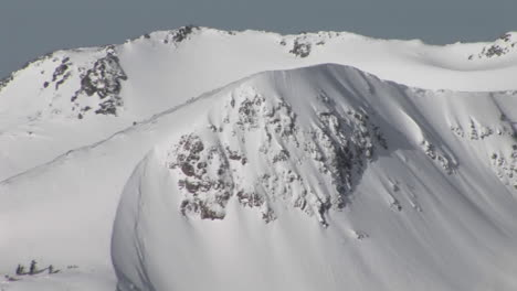 Longshot-of-snowcovered-rugged-mountains