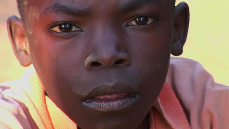 Closeup-shot-of-a-beautiful-young-child-in-Africa-2