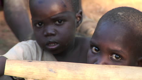 Closeup-shot-of-a-beautiful-young-African-children-in-Africa