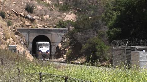 A-Amtrak-passenger-train-passes-through-a-hillside-tunnel-near-Los-Angeles