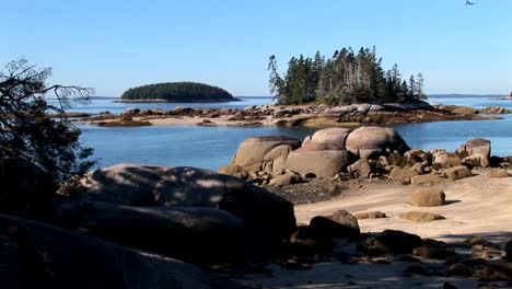 Water-moves-between-small-islands-offshore-a-lobster-village-in-Stonington-Maine-1