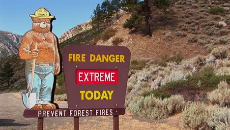 A-Smoky-Bear-fire-danger-sign