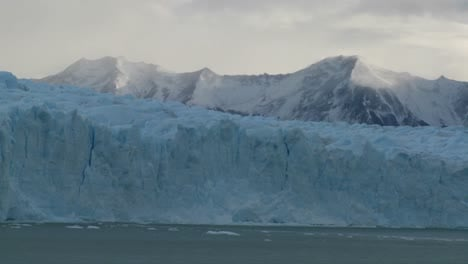 A-wide-shot-of-a-glacier-in-distance