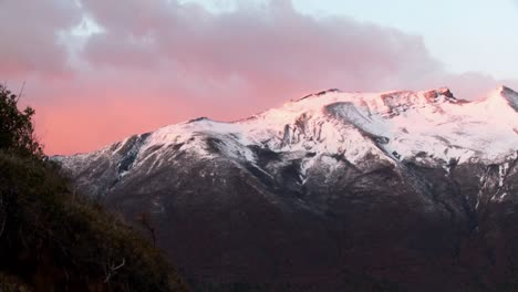 Sunrise-over-snowy-mountains