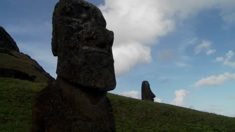 A-time-lapse-of-clouds-moving-behind-Easter-Island-statues