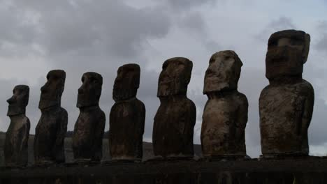 A-long-line-of-statues-is-silhouetted-on-Easter-Island-in-this-time-lapse-shot-1