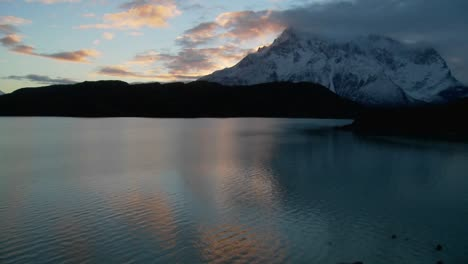 A-wide-shot-of-a-beautiful-lake-in-Patagonia-Argentina-1
