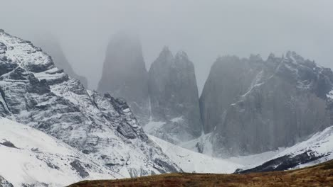 The-majestic-mountain-peaks-of-Torres-Del-Paine-in-Argentina-1