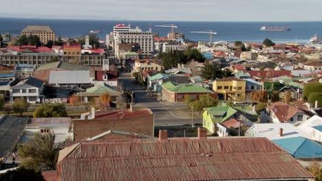 Una-Vista-Sobre-El-Centro-De-Punta-Arenas-En-La-Parte-Sur-De-Chile-