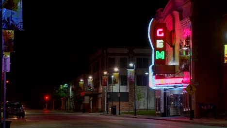 A-night-shot-of-an-empty-street-in-small-town-America-2