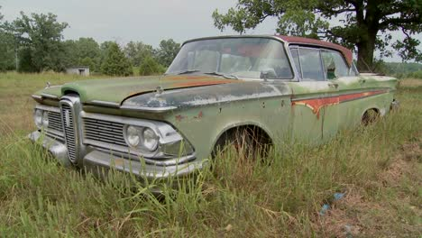 An-old-Ford-Edsel-sits-in-a-field-5