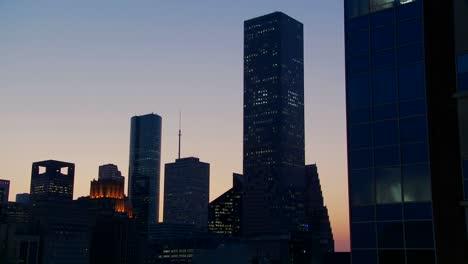 The-Houston-skyline-at-dusk