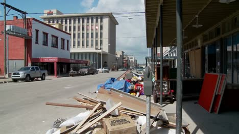 Junk-and-refuse-sits-on-the-street-during-the-cleanup-after-Hurricane-Ike-in-Galveston-Texas