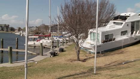 Los-Barcos-Están-Varados-Después-De-Que-El-Huracán-Ike-Arrasara-Galveston-Texas