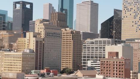 Cerca-Del-Horizonte-De-Houston-En-Un-Día-Soleado