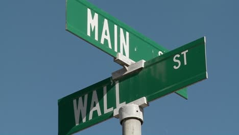 A-street-sign-indicates-the-intersection-of-Main-and-Wall-Streets-2