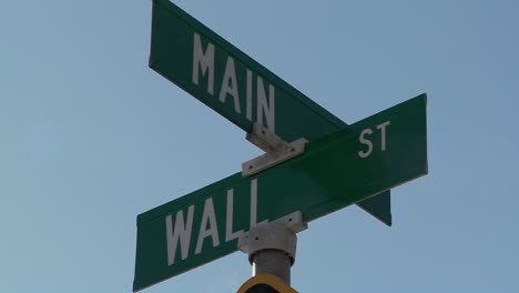 A-street-sign-indicates-the-intersection-of-Main-and-Wall-Streets-3