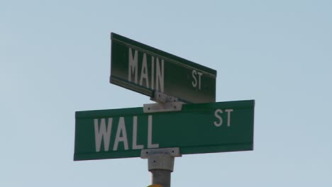 A-street-sign-indicates-the-intersection-of-Main-and-Wall-Streets-4