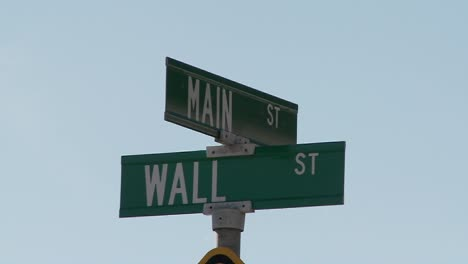 A-street-sign-indicates-the-intersection-of-Main-and-Wall-Streets-5