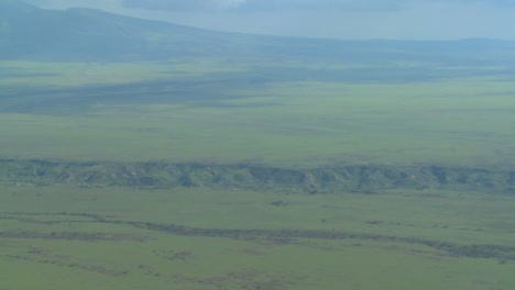 An-aerial-shot-over-the-Olduvai-Gorge-in-Tanzania-Africa