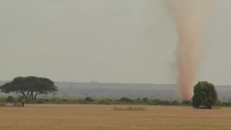 A-dust-devil-dust-tornado-blows-across-the-plains-of-Africa