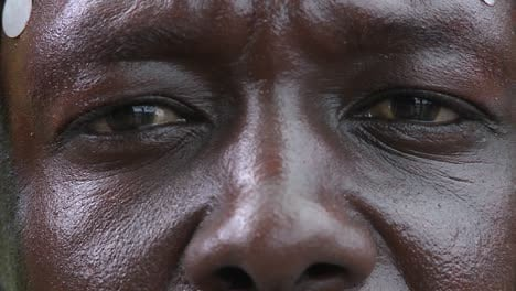 Extreme-close-up-of-the-eyes-and-nose-of-an-African-man
