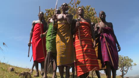 Masai-warriors-perform-a-ritual-dance-in-Kenya-Africa-1