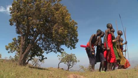Masai-warriors-perform-a-ritual-dance-in-Kenya-Africa-3