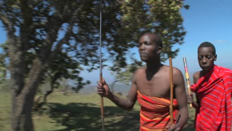 Masai-warriors-perform-a-ritual-dance-in-Kenya-Africa-10