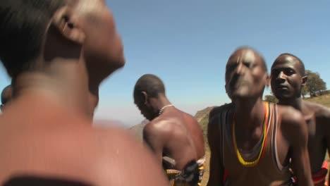 Masai-warriors-perform-a-ritual-dance-in-Kenya-Africa-11