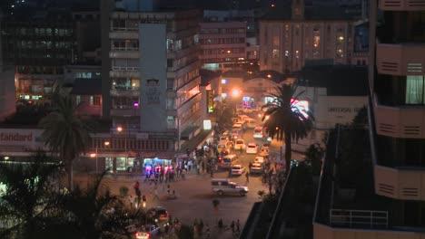 A-night-view-of-the-streets-of-Nairobi-Kenya