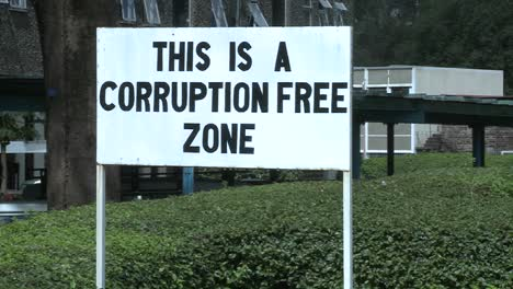 A-sign-at-the-University-of-Nairobi-in-Kenya-proclaims-a-corruption-free-zone