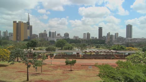 A-good-wide-shot-of-the-city-of-Nairobi-Kenya