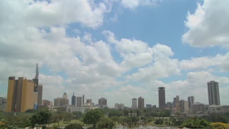 Beautiful-time-lapse-shot-of-clouds-moving-over-the-city-of-Nairobi-Kenya