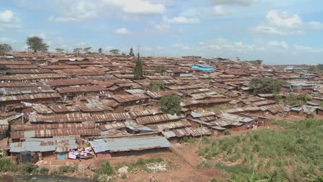 View-across-a-poverty-stricken-slum-in-Nairobi-Kenya