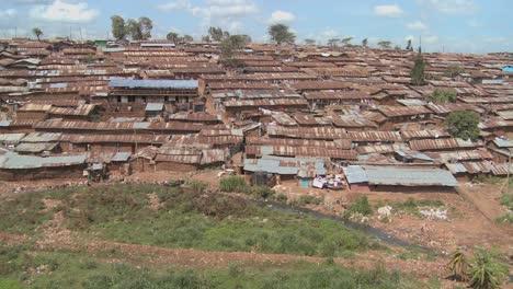 Pan-across-a-slum-in-Nairobi-Kenya