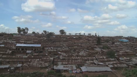Time-lapse-shot-over-the-slums-of-Nairobi-Kenya
